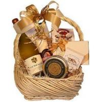 Corporate Gifts White Wine Basket