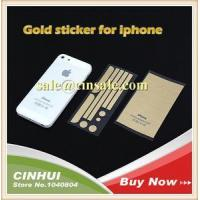 Quality 5s Gold Color Side Stickers Button for Iphone 5 4 with Retail Box Fast Ship for sale