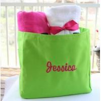 Quality Monogrammed Tote Bag - Several Color Choices for sale
