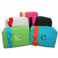 Quality Large Monogrammed Cosmetic Bags - Monthly Special!! for sale