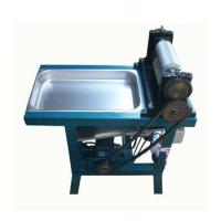 Quality Electric Beeswax Comb Foundation Automatic Edge Cutting Mill (Embossing Roller) for sale