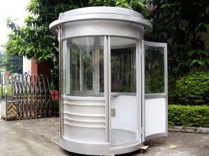 China Security House, Stainless Steel Guard House Low Cost Sentry Box Booth