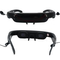 VCAN0334 hd video glasses 72 inch 16:9 wide screen and 4GB built-in MP5 player