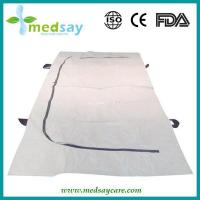 Disposable Medical Products Corpse bag with U zipper & Handle tape