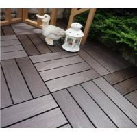DIY Composite Deck Tiles Hollow Easy Installation DIY WPC Tiles