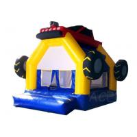 Quality Inflatable Games Commercial Grade Inflatable Car Bouncy House Tire Theme Castle for sale