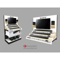 Consumer electronic displays Hot sale tv&audio display stand design custom display stand