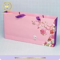 Quality Luxury Printed Paper Carrier Bag For Cosmetic for sale