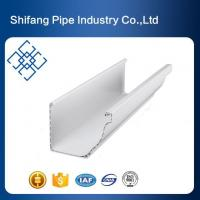 PVC Gutters PC Certificated PVC Profiles Villa Home Gutters Water Collector System for Sale