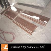 Maple Red Granite Step Outdoor Stair Tread step covering