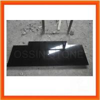 Quality Natural Black Gran Stone Fireplaces for sale