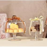 Quality Hot Sale High Quality Glass Cake Stand With Dome Or Cover for sale