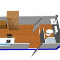 Warehouse container house