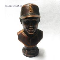 Quality RK12ST004 Tim Salmon 6 Inch Bronze Colored Resin Bust for sale