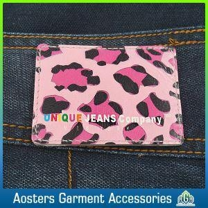 Buy Design PU Embossed Leather Label Maker Labels at wholesale prices