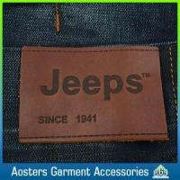 Quality Factory Direct Sale Custom Design Leather Labels for Jeans for sale