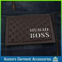 Quality Custom High Quality Embossed Leather Tags for Jeans for sale