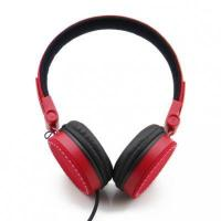 Quality Red Cotton Music Phone Headphone with Elastic band for sale