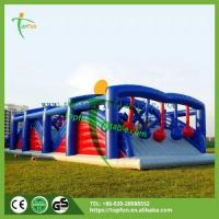 Outdoor playground Name:Inflatable Event Match Obstacle / Inflatable Toy