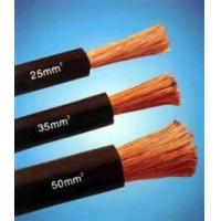 Copper Wire Rubber Insulated black natureal rubber flexible welding cable