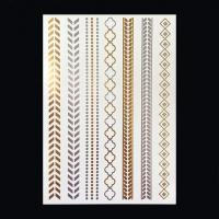 Quality Gold tottoo sticker for sale