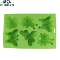 Funny silicone insect cake mold OEM /ODM silicone baking cake mold silicon animal cake molds