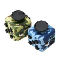 Fidget Spinner Toys Camouflage Painting Magic Puzzle Toy Anxiety Stress Fidget Cube