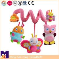 Quality Baby Crib Toys Baby Plush Spiral Activity Toy for sale