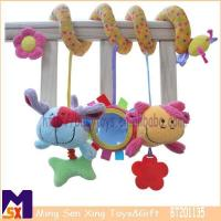 China Baby Crib Toys Spiral Activity Toy for Baby Stroller on sale