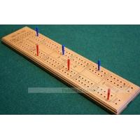China PUB GAMES Cribbage Board - wooden with plastic pegs Prod.Ref: 00KH13 on sale