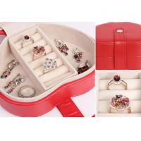 Quality leather jewellery box onlin Jewelry Case THD-07 for sale