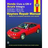 China Honda Civic (1996-2000), CR-V (1997-2001) & Acura Integra (1994-2000) Haynes Repair Manual (USA) on sale