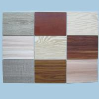 Quality Mr E1/e0 Black Melamine Laminated MDF Board for sale