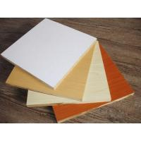 Quality White Melamine Board For Wardrobe/cabinet for sale