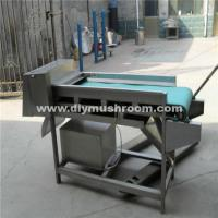 China Automatic mushroom cutting machine on sale