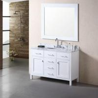 48 white bathroom vanity MS-8041