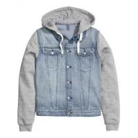 men-Jacket Customized denim jacket hoodie for men