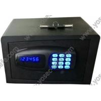 Buy cheap Hotel Safe Laser cutting door electronic safe with small size from wholesalers