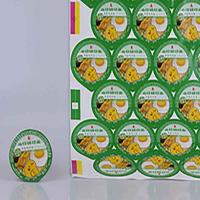 China Aluminium foil lids for instant noodle cups on sale