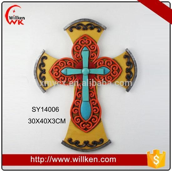 China Animal Statues Unique crosses decorative cross wall art hanging crosses wall