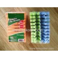 China Plastic Products&Parts 20pcs Plastic Pegs set on sale