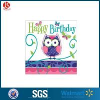 Quality Owl Party Cellophane Bags for sale