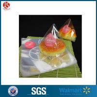 Quality Cellophane Plastic Bread Bag Transparent Small Cake Packing Bag for sale