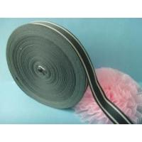 Quality Custom 2 colors woven striped ribbons for sale