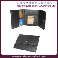 2012 fashionable leather credit card wallet