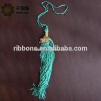 NO MOQ Hot selling fashion italy design fashion decorative polyester colorful tassel