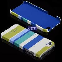 Buy cheap iphone 6 cases C&T Fashion tint stripe Printed pc phone case for iphone 5 from wholesalers