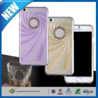 Buy cheap C&T Fashion Bling DiamondTransparent Clear Flexible TPU Gel Cover for Apple iPhone 6 (4.7