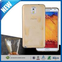 C&T Hot CLEAR WHITE Melt Ice cream Rubber TPU Case Skin Cover for Samsung Galaxy Note 3 N9000