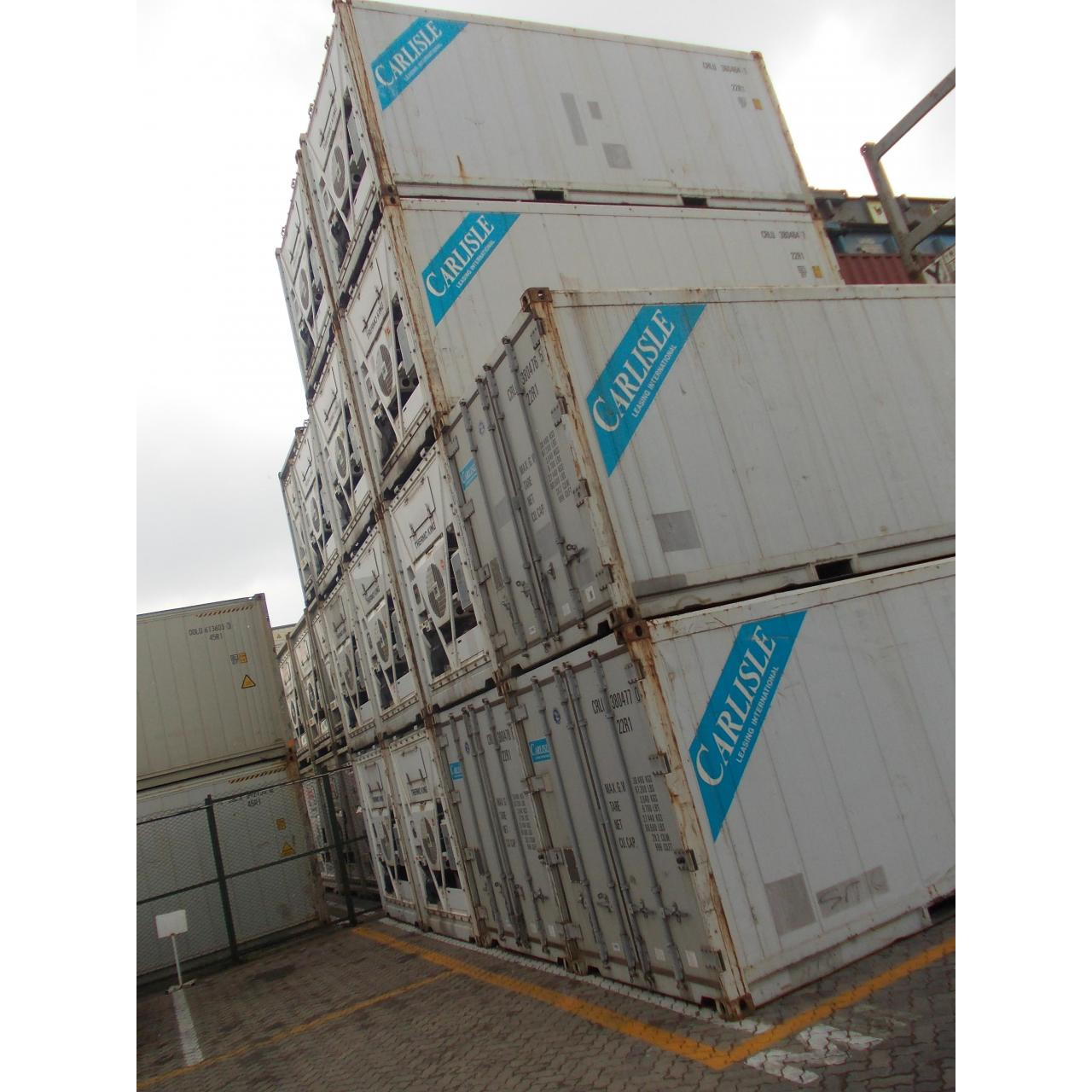 Quality used 20ft reefer/refrigerated container for sale
